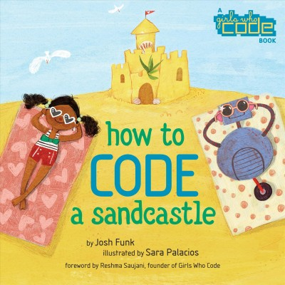 Book cover of How to Code a Sandcastle