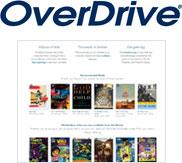 OverDrive logo and screenshot
