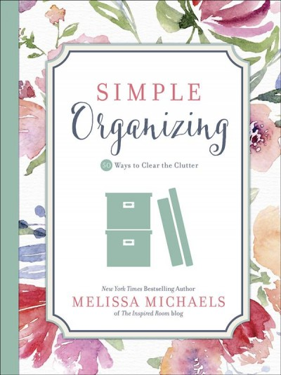 Cover of Simple organizing book