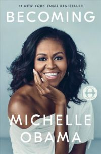 Cover art of Becoming by Michelle Obama