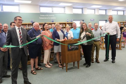 Grand re-opening of Williamston Library